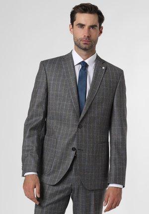 Suit jacket - braun hellblau