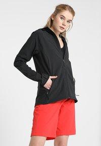 The North Face - W APEX NIMBLE HOODIE - Waterproof jacket - black - 0