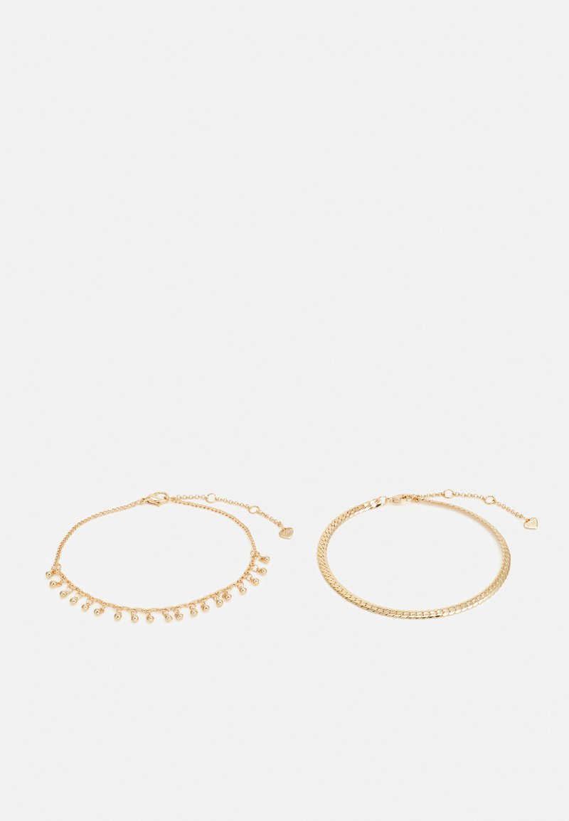 ALDO - ANKLET LAWRAWANI 2 PACK - Bracelet - gold-coloured