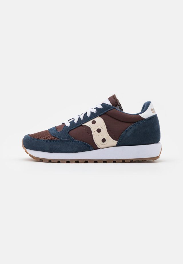JAZZ VINTAGE - Zapatillas - navy/mahogony/tan