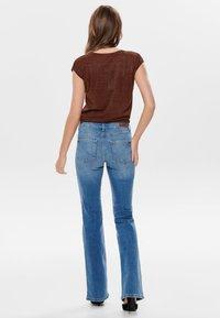 JDY - Flared Jeans - light blue denim - 2