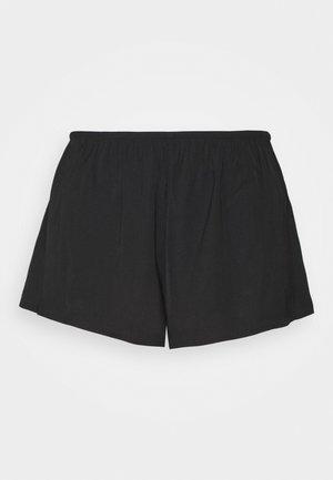 NIGHT SHORTS NATALIA - Pyjamahousut/-shortsit - black