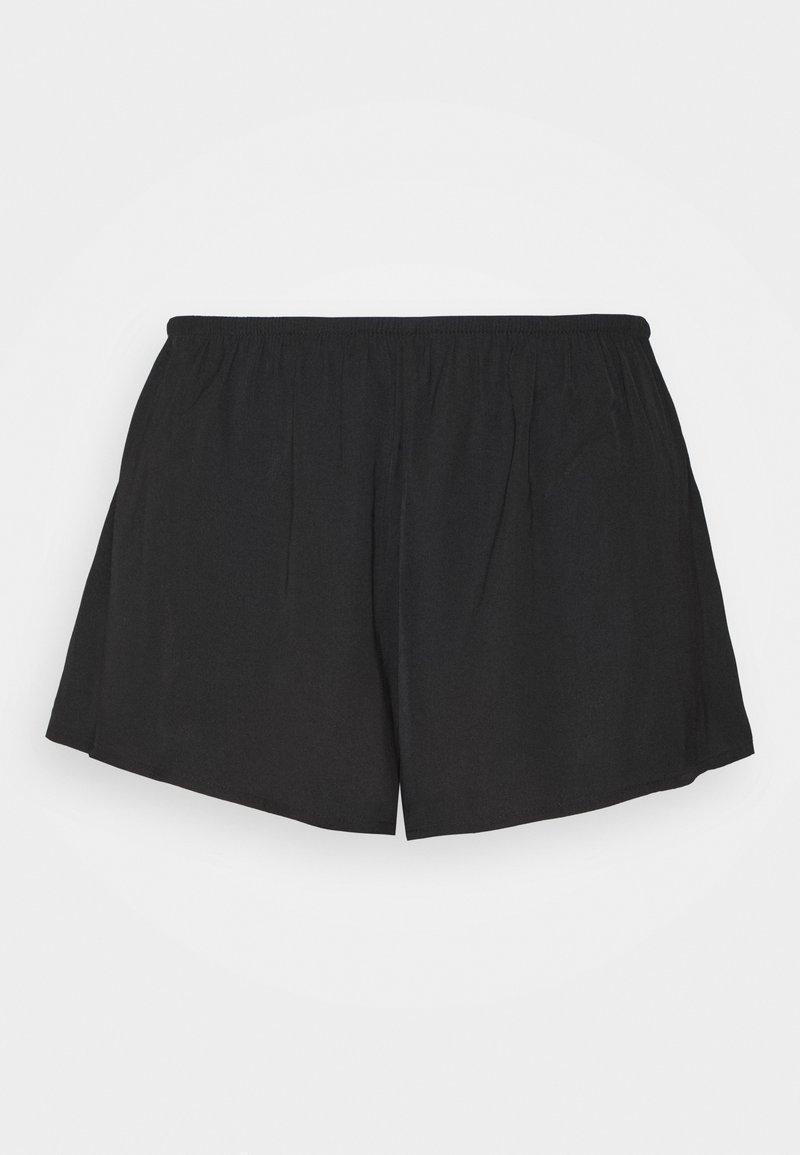 Lindex - NIGHT SHORTS NATALIA - Pyjama bottoms - black