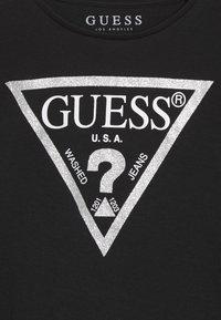 Guess - TODDLER CORE - Bluzka z długim rękawem - jet black/frost - 3