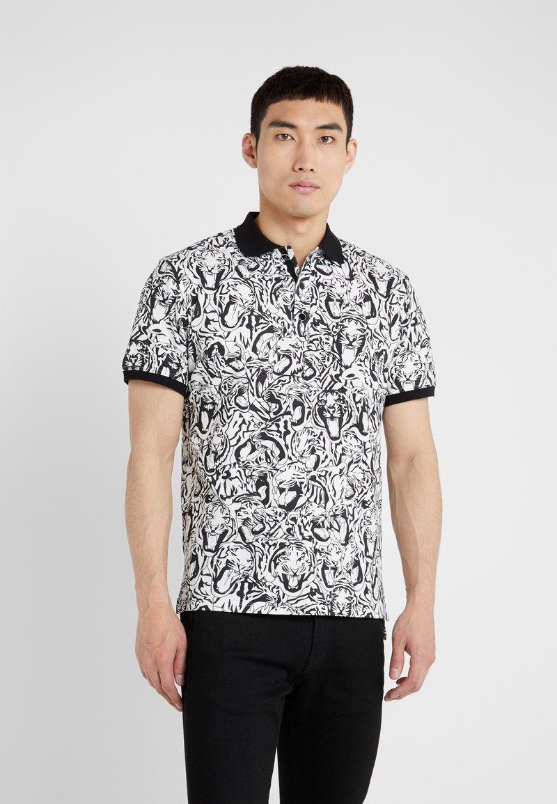 Just Cavalli - Polo shirt - black/white