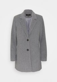 Vero Moda - VMDAFNELISA JACKET - Short coat - dark grey - 4