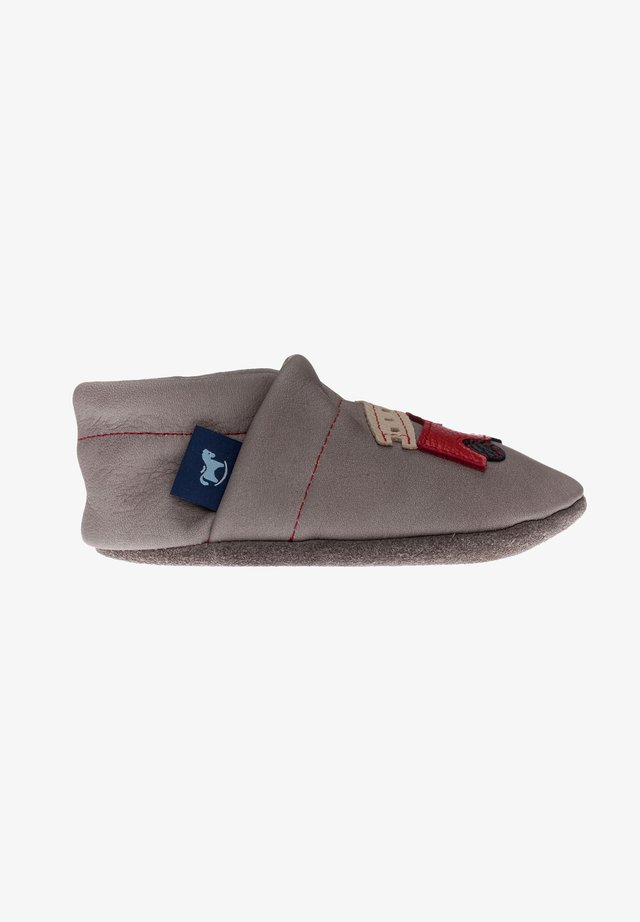 First shoes - grau / rot