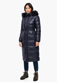 s.Oliver - MIT LOGO-GÜRTEL - Winter coat - navy - 1