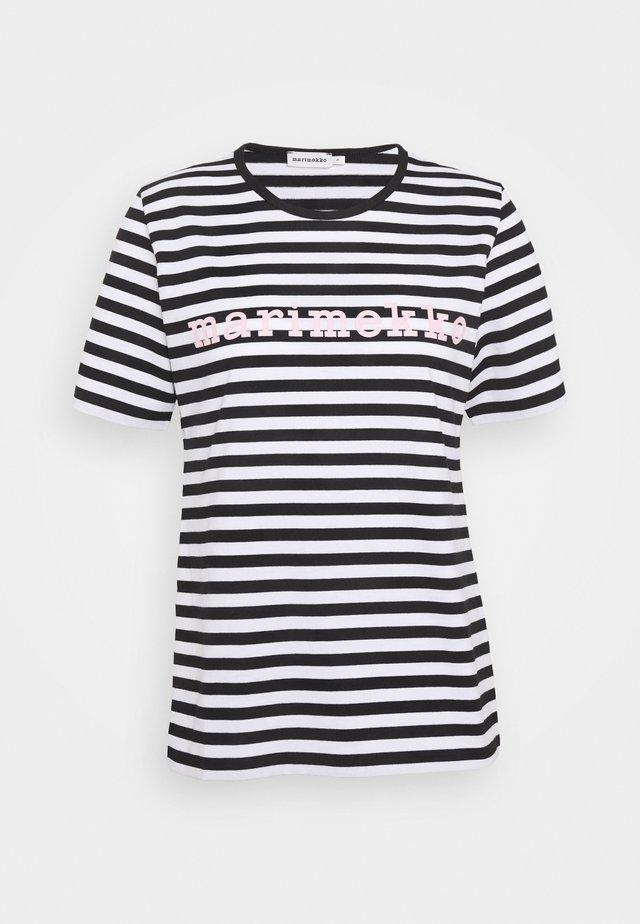 LOGO LYHYTHIHA MARI - T-Shirt print - black
