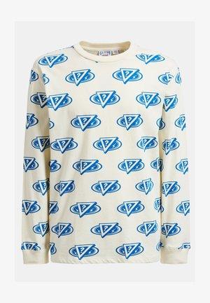 T-shirt con stampa - mehrfarbig, weiß
