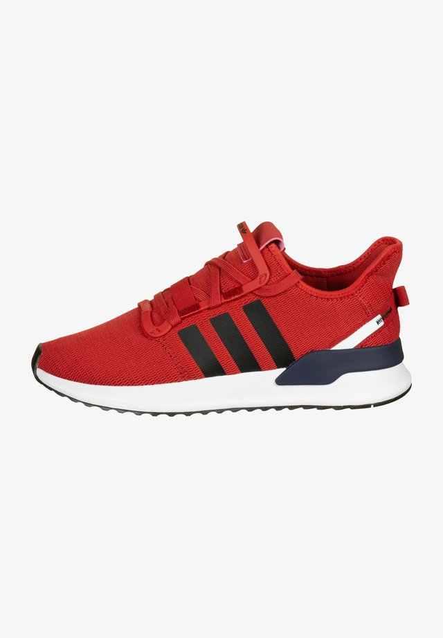 U_PATH RUN SHOES - Trainers - red/black