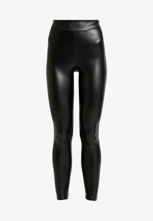 CHELSEA HIGH WAISTED - Leggings - Trousers - black