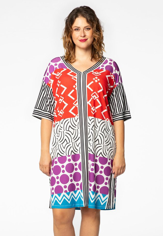 MIT DRUCK - Day dress - multi-coloured