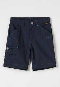 Jack Wolfskin - SAFARI ZIP OFF PANTS 2-IN-1 - Outdoor trousers - night blue