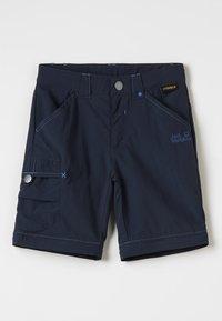 Jack Wolfskin - SAFARI ZIP OFF PANTS 2-IN-1 - Outdoorové kalhoty - night blue - 2