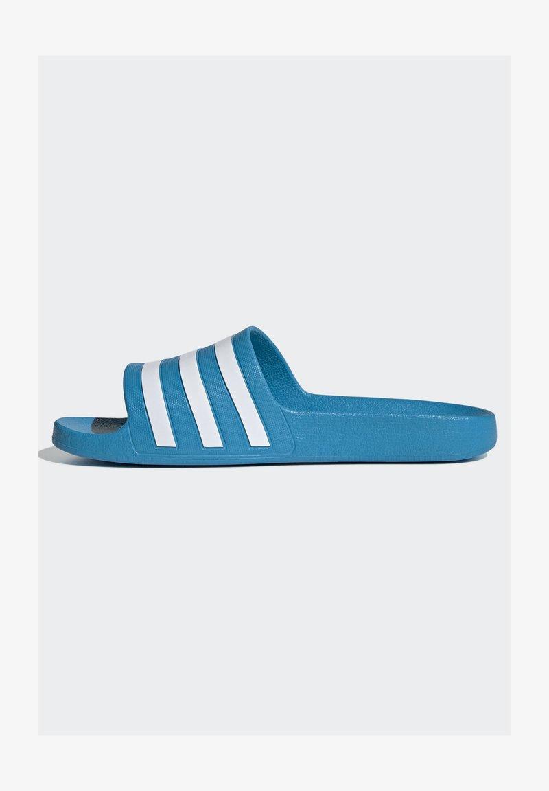 adidas Originals - ADILETTE AQUA SWIM - Kapcie - blue