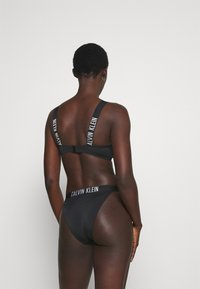 Calvin Klein Swimwear - INTENSE POWER HIGH RISE  - Bikini bottoms - black - 2