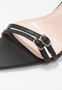 BEBO - WESTRA - Sandales à talons hauts - black - 5