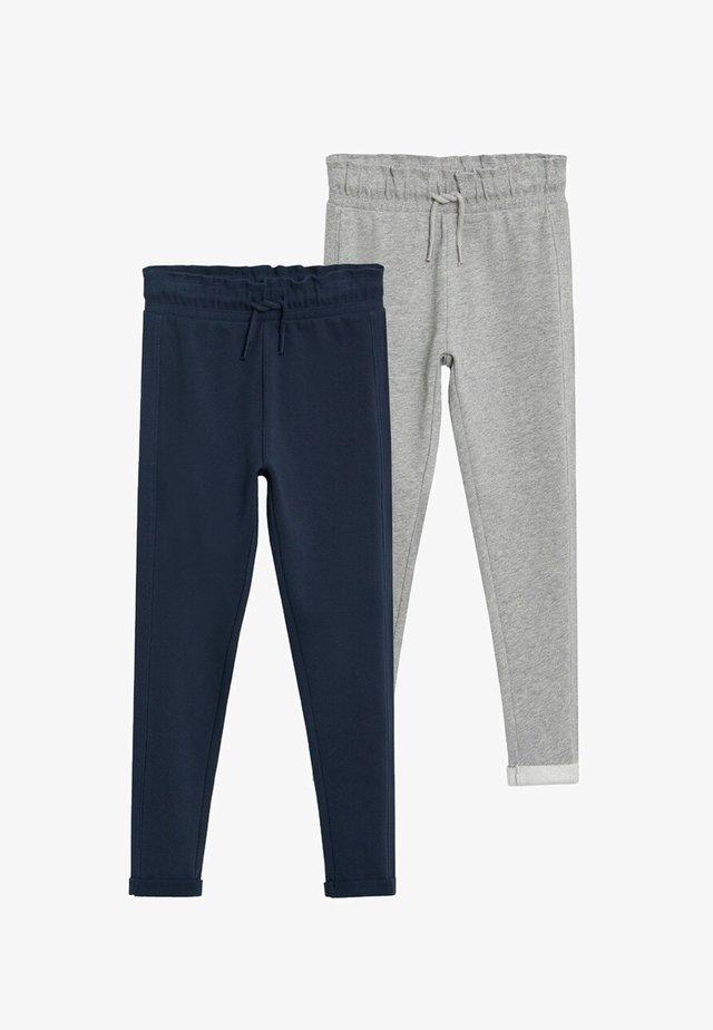 2 PACK - Trousers - dunkles marineblau
