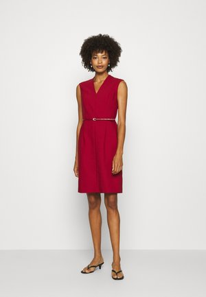 Cocktail dress / Party dress - deep red