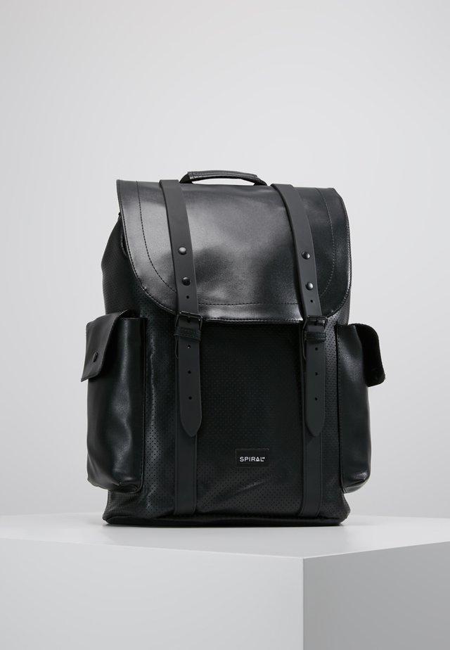 TRANSPORTER - Batoh - perforated black