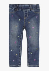 GAP - TODDLER GIRL ICON  - Džegíny - dark blue - 0