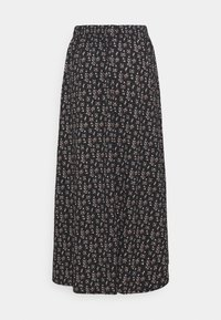 ONLY - ONLZILLE NAYA SKIRT - Maxi skirt - black/lavender - 1