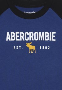 Abercrombie & Fitch - RAGLAN - Långärmad tröja - cobalt/black - 3