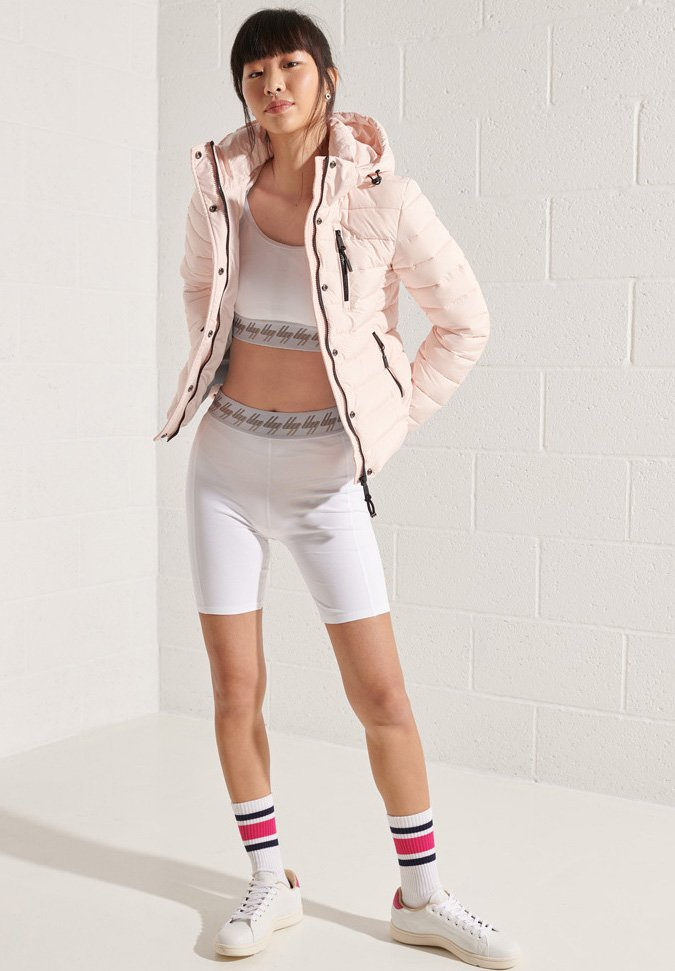 Superdry - Winter jacket - pink clay