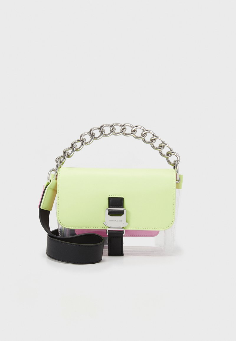 Tommy Jeans - ITEM FLAP CROSSOVER FADE - Across body bag - green