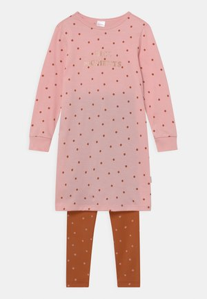 ORGANIC COTTON KIDS LANG - Pyjama set - rosa