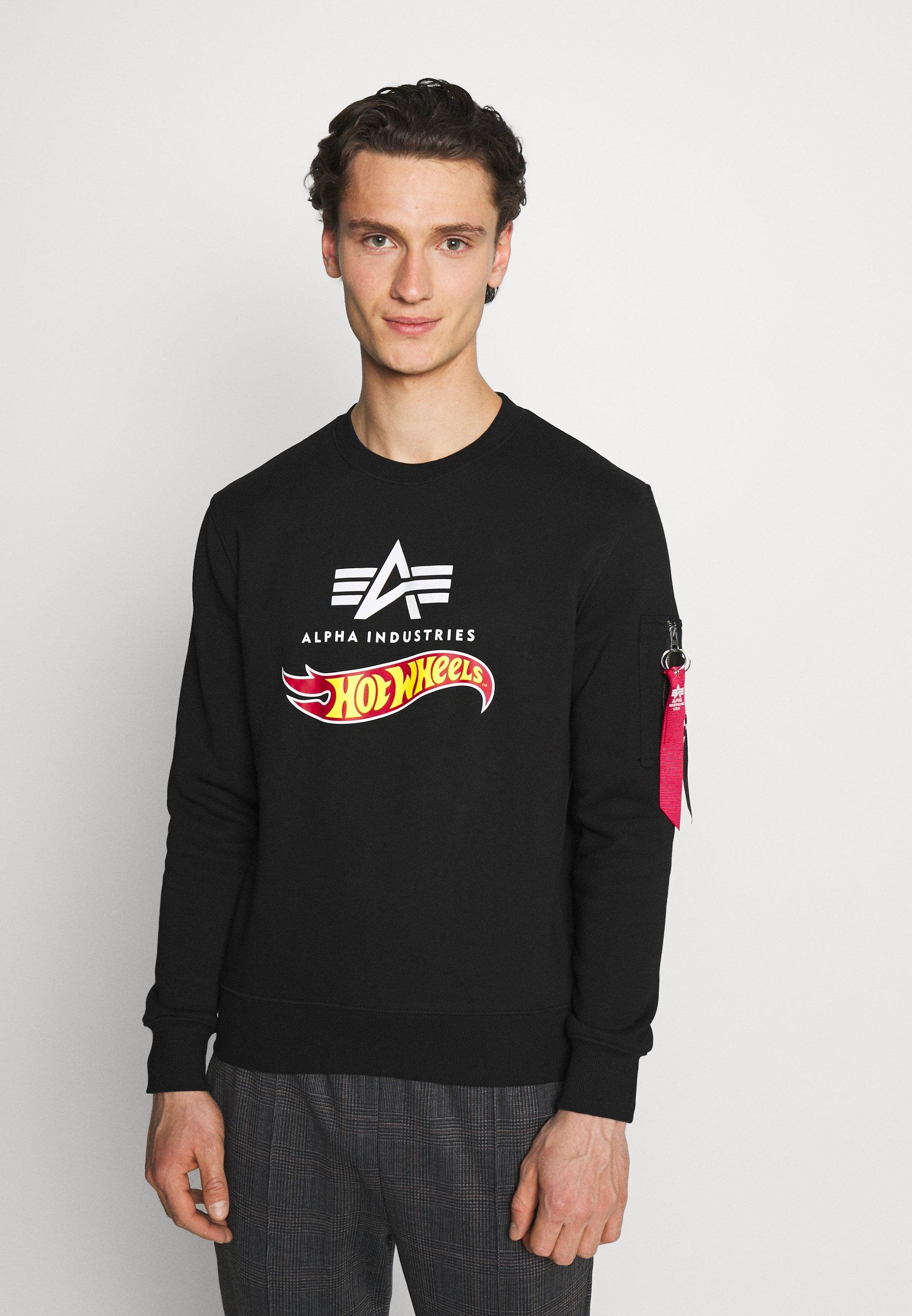 Homme HOT WHEELS FLAG  - Sweatshirt