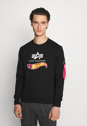 HOT WHEELS FLAG  - Sweatshirt - black