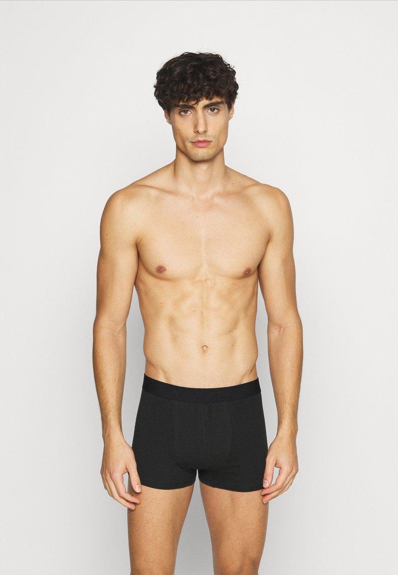 Topman - 5PACK - Pants - black