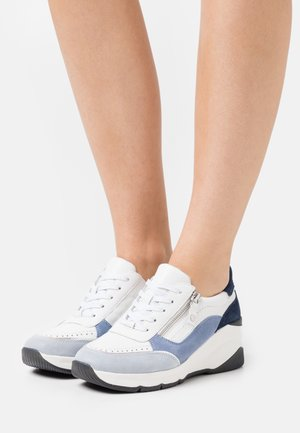 LACE UP - Trainers - blue