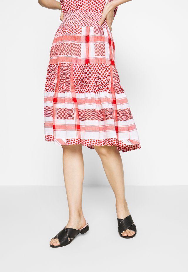 AFTERGOLD SKIRT - A-line skirt - tomato