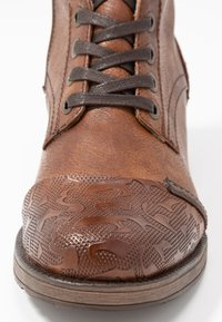 Mustang - Lace-up boots - cognac - 2