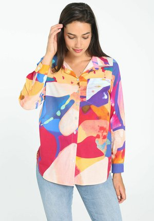 WITH AN ABSTRACT ART  - Overhemdblouse - multicolor