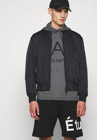 EA7 Emporio Armani - Sweatshirt - dark grey - 5