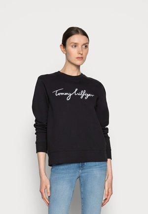 REGULAR GRAPHIC - Sweater - black