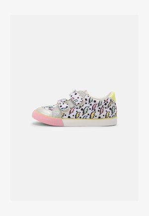 BB LO SCRATCH - Sneakers laag - white/silver