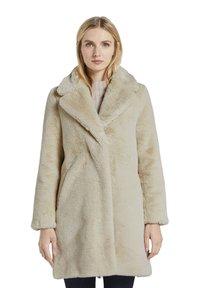 TOM TAILOR - Winter coat - warm sand beige - 0