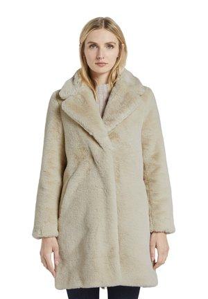 Winter coat - warm sand beige