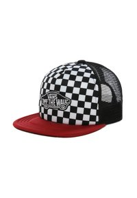 Vans - BY CLASSIC PATCH TRUCKER - Casquette - chili pepper-checkerboard - 1