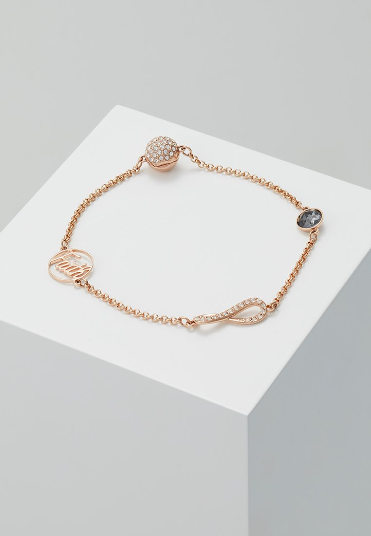 Swarovski - REMIX STRAND FAITH - Bracelet - rose gold-coloured