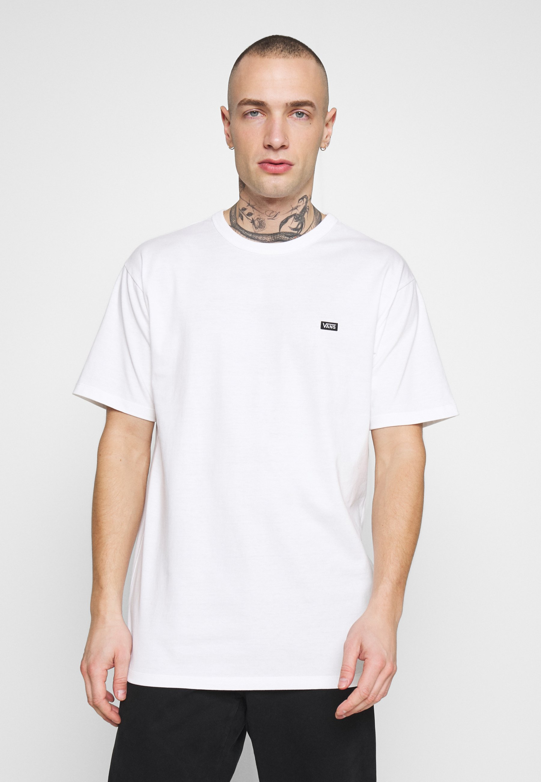 MN OFF THE WALL CLASSIC SS - T-shirt basique - white
