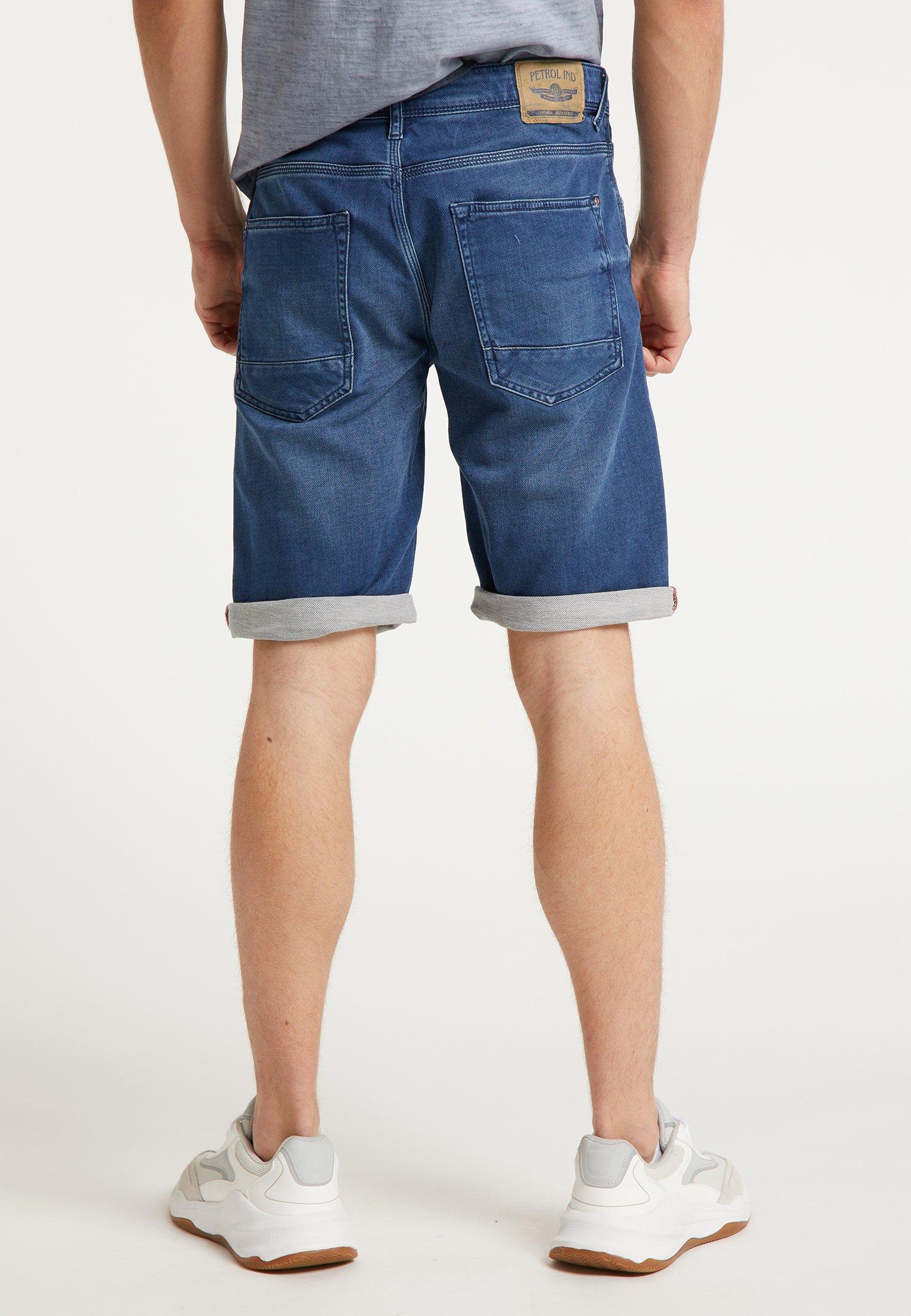 Petrol Industries Shorts - Jeans Dark Blue