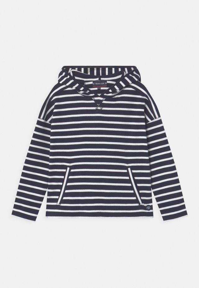 STRIPED UNISEX - Longsleeve - navy blanc