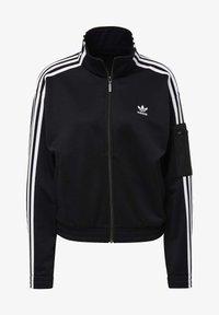 adidas Originals - TRACK TOP - Trainingsjacke - black - 8