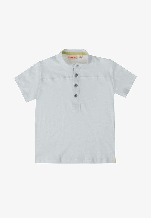 Poloshirt - blanco